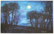 Ernst Fuchs - Starnberger See I - handsigniert