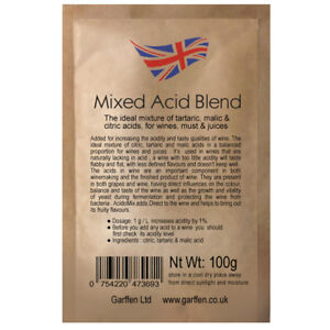Acid-Blend-100g-Adjusting-Acidity-of-Wines-Must-Juices-Tartaric-Malic-Citric