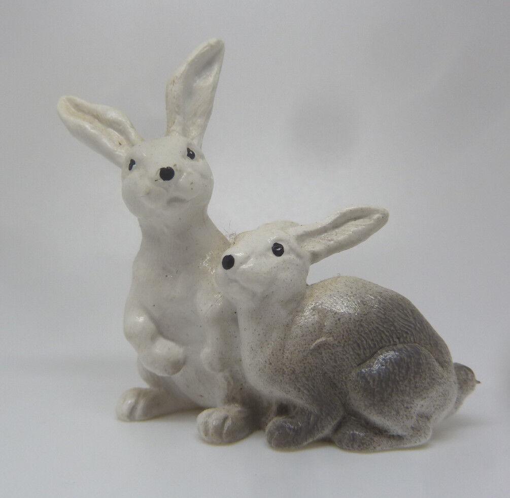 620) Schleich Schleich Schleich 13104 Pareja de Conejos whiteo Conejo Conejos Schleich Animal c34afc