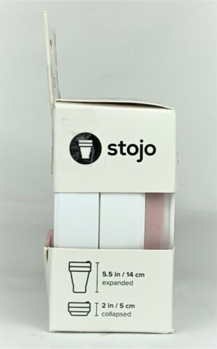 STOJO On The Go Coffee CupPocket Size Collapsible Silicone Travel Cup 16 oz