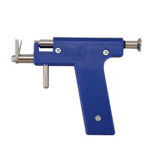 Pro-Steel-Ear-Nose-Navel-Body-Piercing-Gun-Tool-Kit-98pcs-Instrument-Studs-E3J6