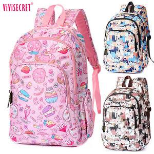 Image is loading Womens-Boys-Girls-Waterproof-14inch-Laptop-Cartoon-Backpack - 1563929c8c