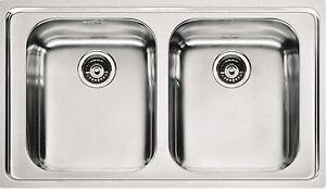 Franke lavello cucina acciaio 2 vasche Futuro FOX 620   eBay