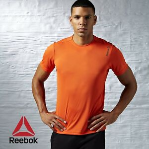 Reebok-Crossfit-Course-Essentials-Short-Sleeve-Tee-t-shirt-fitness-LIVRAISON-GRATUITE