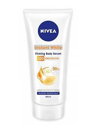 NIVEA Skin lightening firming moisturizers body serum SPF50 coenzyme Q10 Vit C