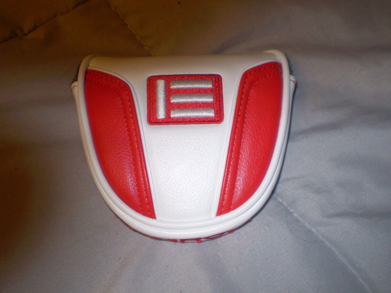 Evnroll Cubierta Putter Mazo Rojo y blancoo