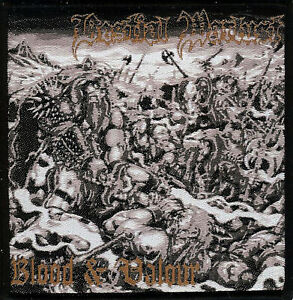 Bestial-Warlust-Blood-amp-Valour-woven-patch-Vomitor-Black-Metal-Revenge-Archgoat