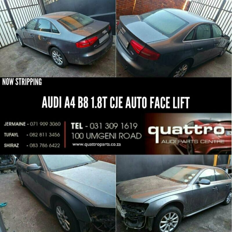 AUDI A4 B8 1.8T STRIPPING FOR SPARES