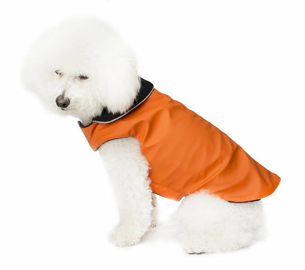 Legitimutt Neo-Tech Dog Coat with Fleece, orange