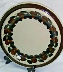 Arabia-RUIJA-Troubadour-Round-Chop-Plate-Serving-Platter-13-5-034-Finland-Brown
