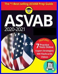 Asvab 2021 For Dummies Book Ebay