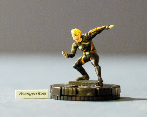 Marvel Heroclix 10 Figure Lot #130 Beast Cyclops Jean Colossus Warpath Longshot