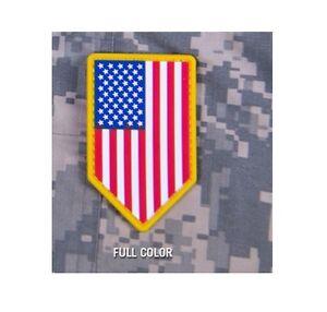 milspec monkey msm pvc patch us american flag vertical shield full