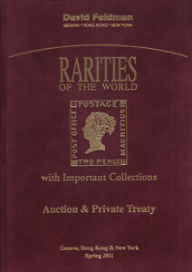 Details about Rarities of the World, rare stamps, covers, collections  2011  Feldman Catalog