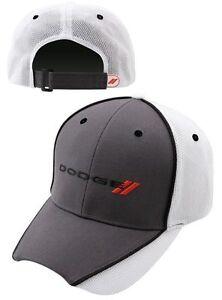 BRAND-NEW-DODGE-VIPER-CHALLENGER-CHARGER-DURANGO-AVENGER-SPORTY-GRAY-HAT-CAP