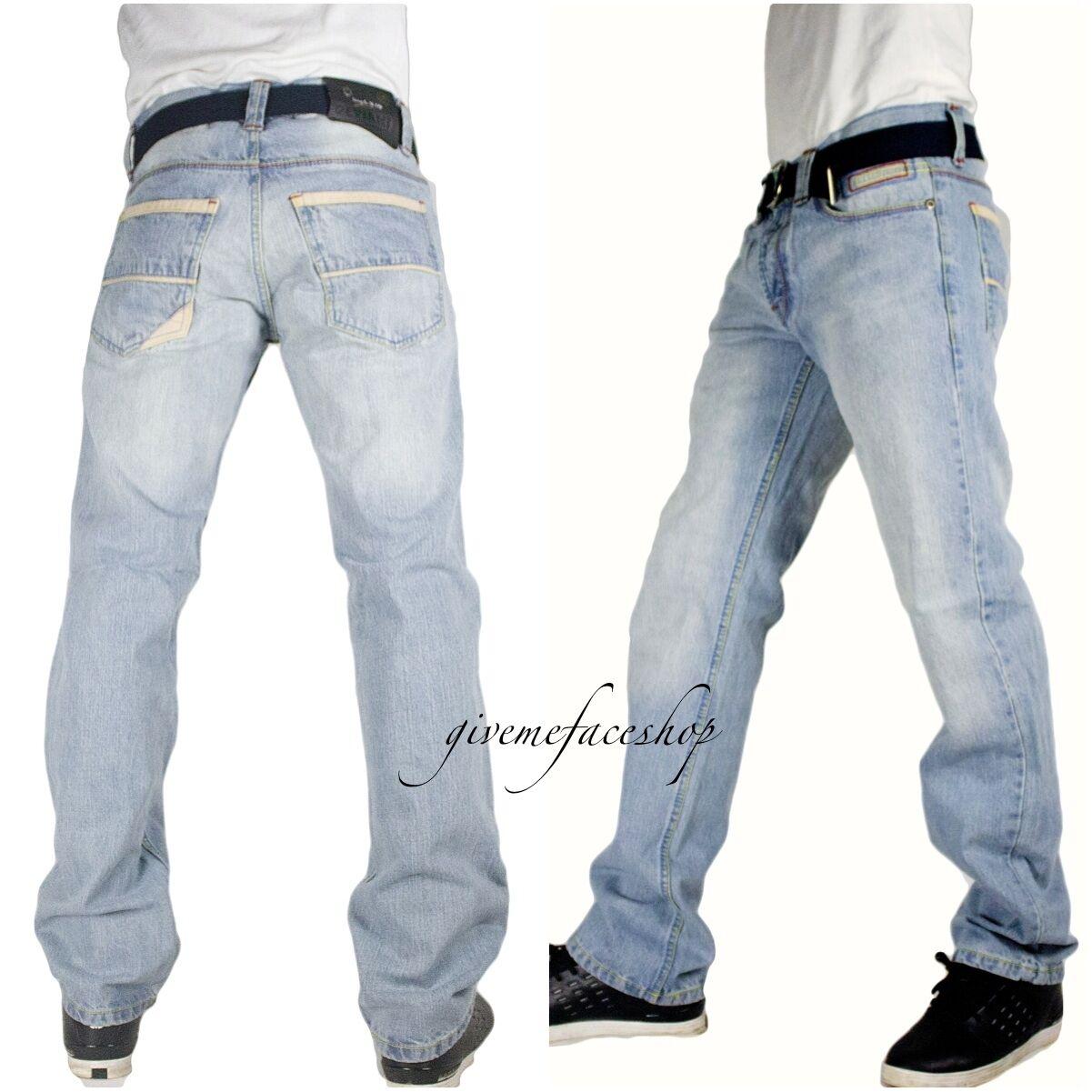 Peviani Herren Ice Blau g jeans, urban Portway Sterne straight fit Hose, hip hop  | Zu einem erschwinglichen Preis  | Angemessene Lieferung und pünktliche Lieferung  | Lass unsere Waren in die Welt gehen