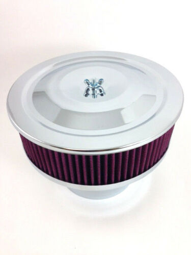 "Velocity Stack Air Cleaner 9/"" Washable Element 5 1//8/"" Neck /& 4 1//4/"" Adapter"
