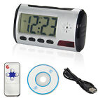 Spy Camera Alarm Clock Micro Hidden Nanny Cam Motion Detection Mini DV DVR Video