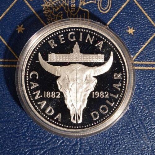 Canada 1982 SILVER Dollar PROOF .500 Fine