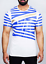 Men/'s Silicon Stripe Futuristic /'Slope/' T-Shirt White Black Elvis Jesus