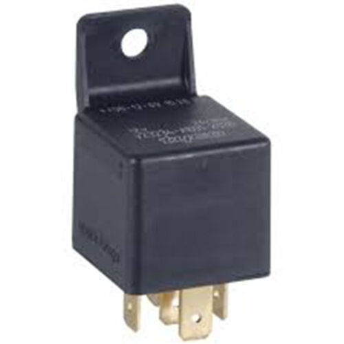 12V RELAY 40A 4 PIN NORMALLY OPEN CONTACT + MOULDED BRACKET CAR WIRE CABLE RY15