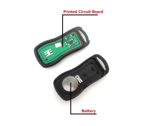 2x New Replacement Keyless Entry Remote Control Key Fob For Nissan KBRASTU15