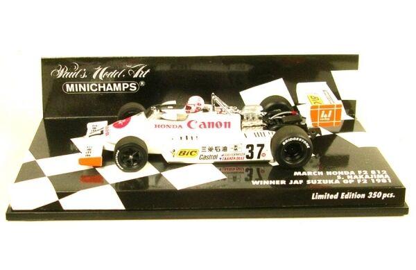 March Honda F2 812 No.37 Winner JAF Suzuka GP F2 1981 (S. Nakajima)  | Sale Online Shop