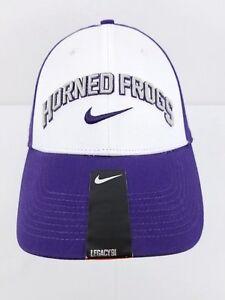 0d11b3e6e9c7c NWT Men s Nike TCU Horned Frogs Hat Cap Medium Large Purple White ...