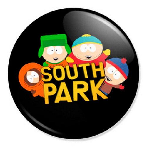"South Park Logo 25mm 1/"" Pin Badge Button Kyle Stan Kenny Cartman Pop Artwork"