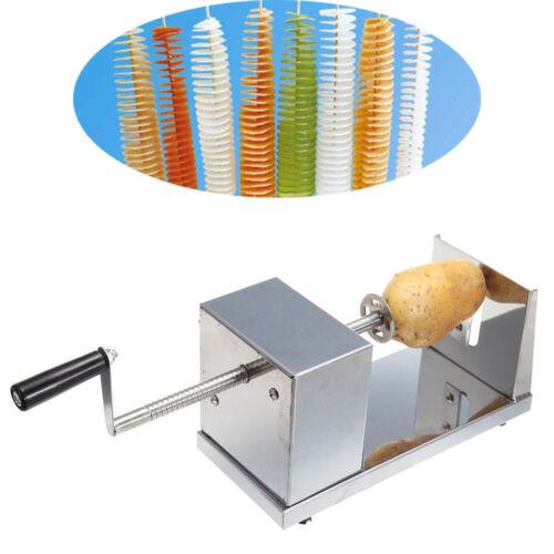 Edelstahl Kartoffel Spiral Schneider Chips Slicer Twister Schneider Langlebig DE