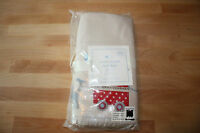Pottery Barn Kids Circus Friends Crib Skirt -organic