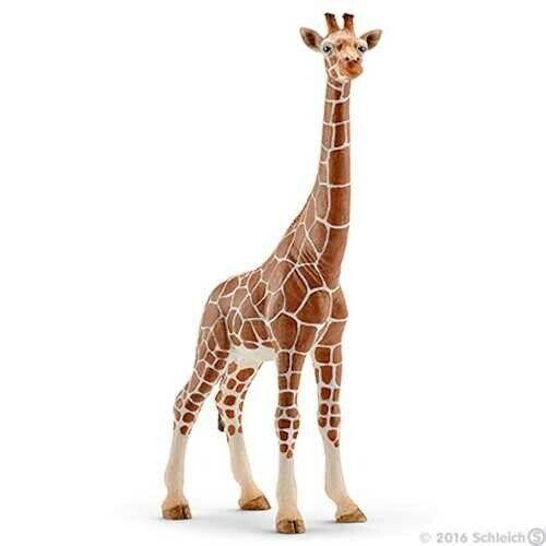 GIRAFFA FEMMINA 2016 animali in resina SCHLEICH miniature 14750 wild life GIRAFF