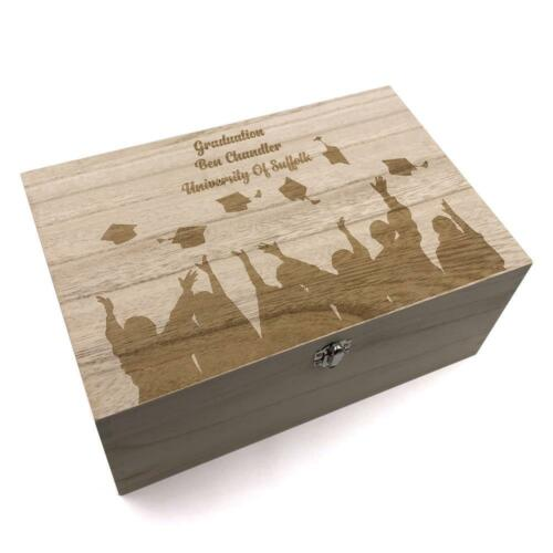 Personalised Large Graduation Keepsake Box HB-6