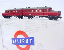 Liliput HO 1:87 DR Deutsche Reischsbahn ETA 180 DIESEL ACCU MULTIPLE UNIT MIB`89