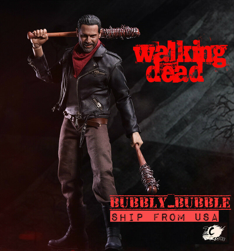 1 6 Scale The Walking Dead Negan Figure with Lucille Full Set SHIP FROM USA