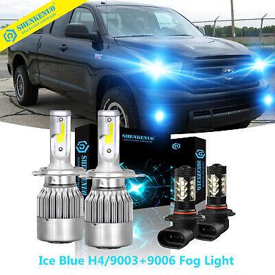 9003 H4 LED Headlight 9006 Fog Bulb for Toyota Tundra 2000-2006 RAV4 2001-2005