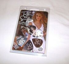 6 (SIX) TAYLOR SWIFT Guitar Picks Rare Holgram style HotPicksUSA