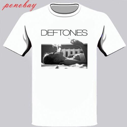 New Deftones *Exhale Rock Band Men/'s White T-Shirt Size S M L XL 2XL 3XL