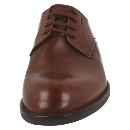 MENS CLARKS CRAFTMASTER LEATHER SMART OFFICE FORMAL LACE UP SHOES RONNIE WALK