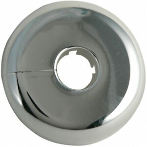 Details About Split Flange 0 5 Inch Plastic Floor And Ceiling Plate For 1 2 Inches Copper Pipe