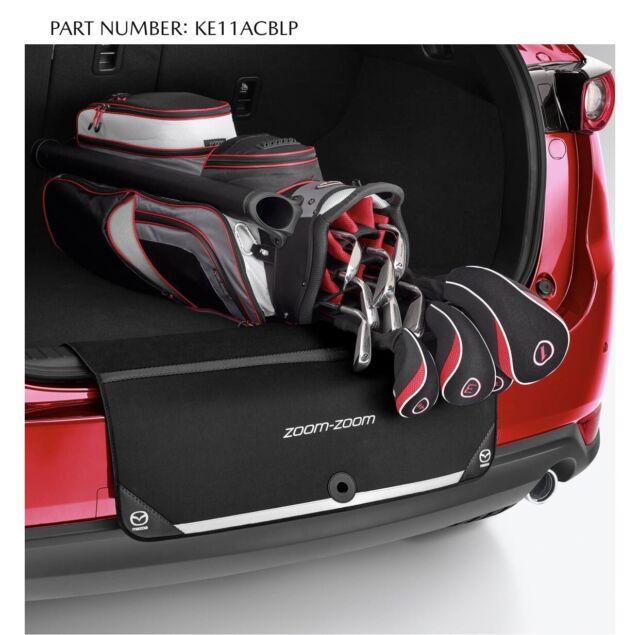 Genuine Mazda 2 3 6 CX3 CX30 CX5 CX9 Rear Bumper Boot Lip Protector KE11ACBLP