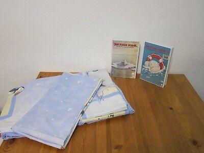 Bettwaren, -wäsche & Matratzen 2 Tlg Kinderbettwäsche Der Kleine Eisbär Lars 2 Vhs Kinder Bettwäsche Bed Linen Einfach Zu Schmieren