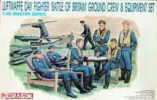 KIT DRAGON 1:48 PILOTI  LUFTWAFFE DAY FIGHTER GROUND CREW & EQUIPMENT SET 5532