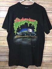 VTG 90s Budweiser This Buds For You Iguana Frog Toad Men's T Shirt Beer Large