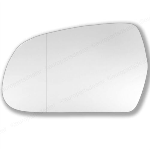 For Audi A5 2009-2015 left hand side wide angle wing door mirror glass