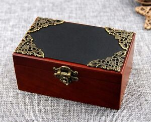 Black Vintage Square Music Box ♫  Fly Me To The Moon  ♫