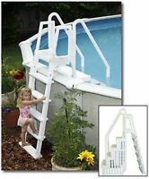 Easy Pool Step With Ladder By Blue Wave For Above Ground Swimming Pools