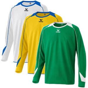 Details zu Erima Trikot Santiago Langarm | Langarmtrikot T Shirt Sport Fitness Training