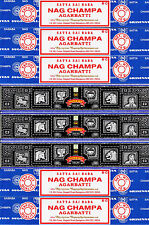 5 Box Nag Champa & 3 Box Super Hit Satya Sai Baba Incense 2016 series 15gm / Box