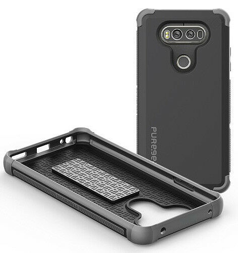 info for 30ac2 d3b72 PureGear Black DualTek Extreme Rugged Case Anti-shock Cover for LG V20 Phone